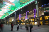 北京CBD夜景