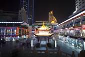 无锡商业街夜景