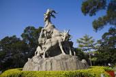 广州越秀公园五羊石