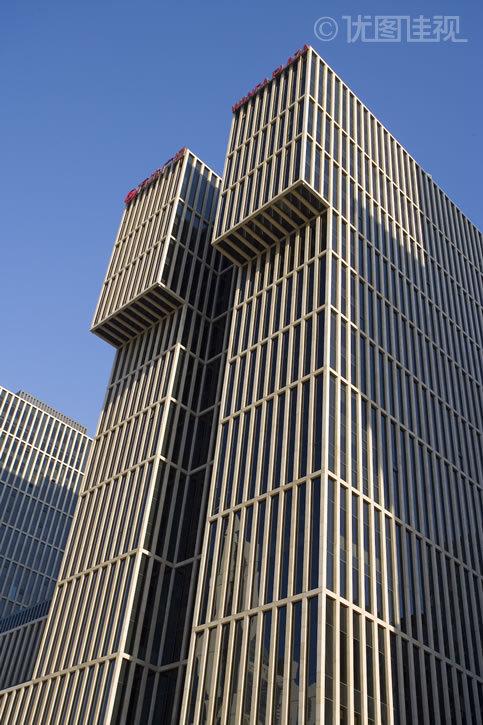 平视大厦高清素材