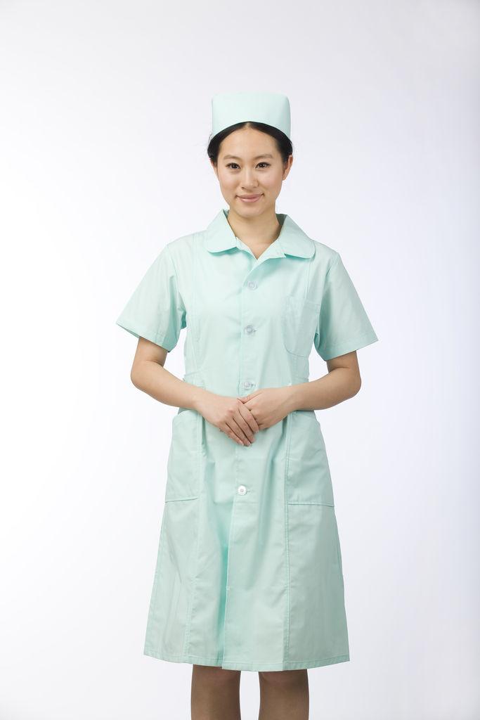 护士工作中图片素材
