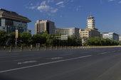 北京复兴门长安街
