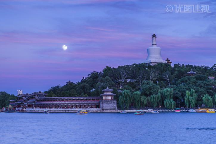 北京北海公园白塔寺|优图佳视