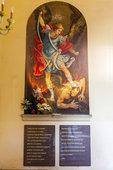 光明神修道院的壁画